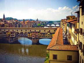 Река Арно в Италии