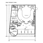 Синагога план третьего этажа
