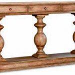 Резная деревянная консоль Grecian Pedestal, Hooker