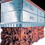 Комод Мanet на резном деревянном основании, Jumbo Collection
