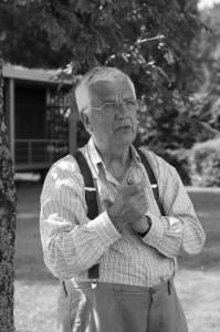 Раймонд Паулс в загородном доме