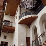 Балкон в замке