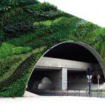 Pont Max Juvenal, прованс. Проект Патрика Блана