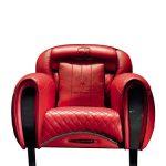 Кресло, обитое телячьей кожей. Коллекция Tonino Lamborghini, formitalia