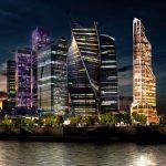 3D-визуализация зданий ММДЦ «Москва-Сити»