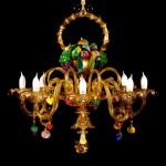 Basket of fruit chandelier VEN-14-8