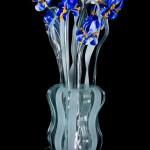 Bunch of iris vase lamp LAM-13