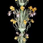 Coloured Iris floor lamp FIO-9-31