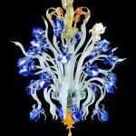 Iris Van Gogh Chandelier IMP-1-24-B
