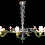 Monet nimphaeas chandelier IMP 3-12