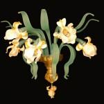 Wall lamp White Iris APP-1-5