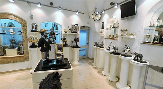Магазин-галерея интерьерных бизнес-подарков
