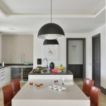 26 - Kitchen with bespoke duo-colour units