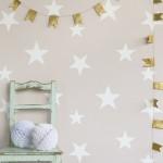 Hibou Home_Stars wallpaper_Blush_HH00801_b