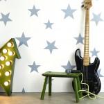 Hibou Home_Stars wallpaper_Stellar Blue_HH00803_b