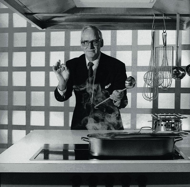 Георг фон Бланкет (Georg von Blanquet), управляющий компании Gaggenau,1956 год_1