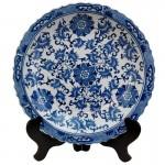 тарелка из фарфора, Oriental Furniture www.shopyourway.com