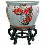декоративная вазаиз фарфора,Oriental Furniture www.shopyourway.com