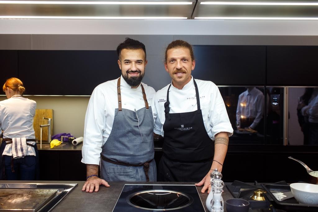 Паоло Петтенуццо, бренд-шеф Grand Cuisine и Владимир Мухини, бренд-амбас...