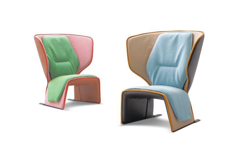 Кресла Gender by Patricia Urquiola, Cassina www.cassina.com