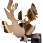 Eclisse applique bronzo nero - Copia