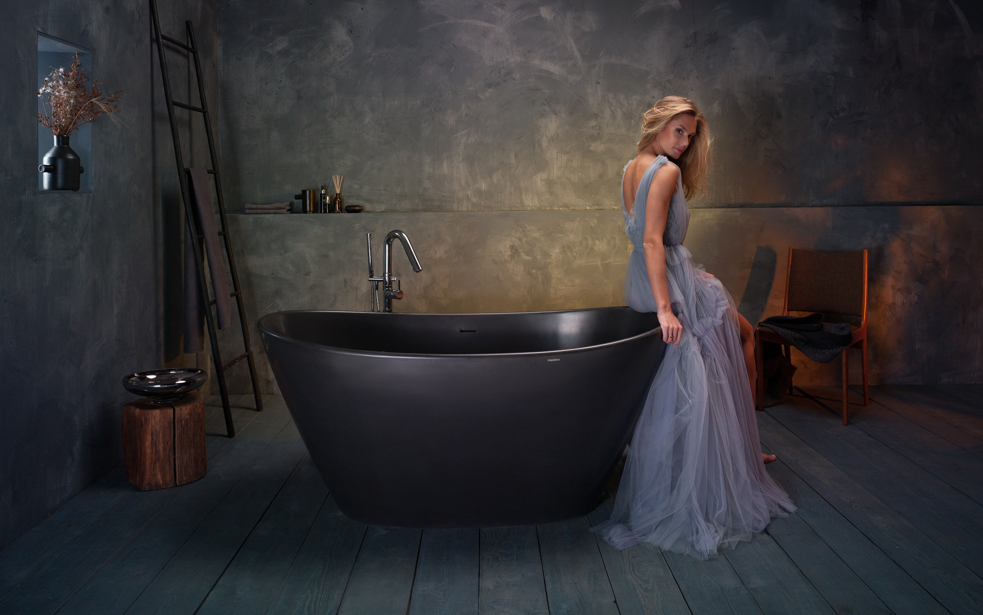 Purescape-748M-Black-Freestanding-Stone-Bathtub-web-(6)