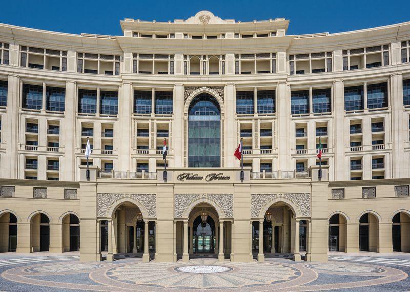 PALAZZO VERSACE – DUBAI - EXTERNAL PEBBLESTONE FLOORING