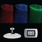 Душевая лейка с LED-подсветкой Viva Lusso Sparkle MCRD-400  www.vivalusso.ru
