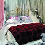 кровать с кованым изголовьем, passeri international www.passerint.it
